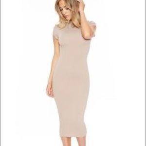 Naked Wardrobe midi dress